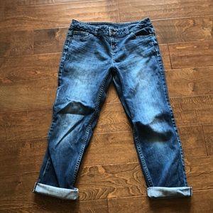 Simply Vera Vera Wang Capri Jeans